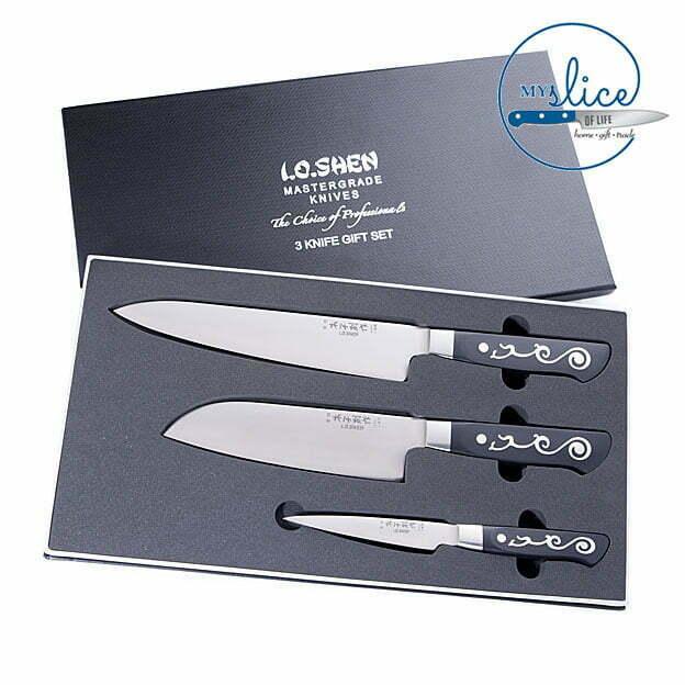 I.O.Shen 3 Piece Knife Set