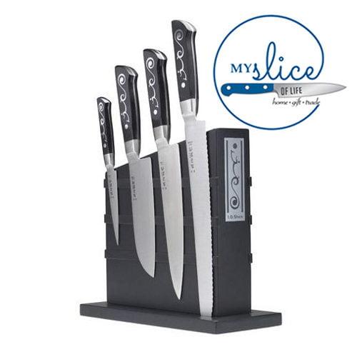 I.O.Shen 5 Piece Knife Block Set