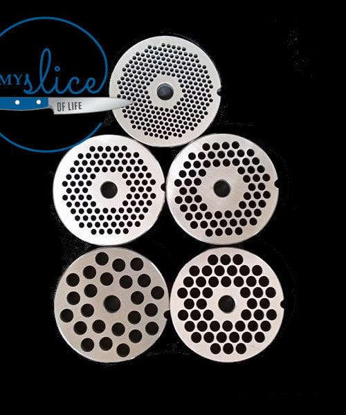 22 Mincer Plates