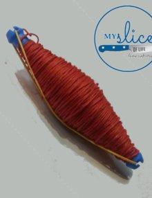 Salami Cotton Twine (Red Spool)