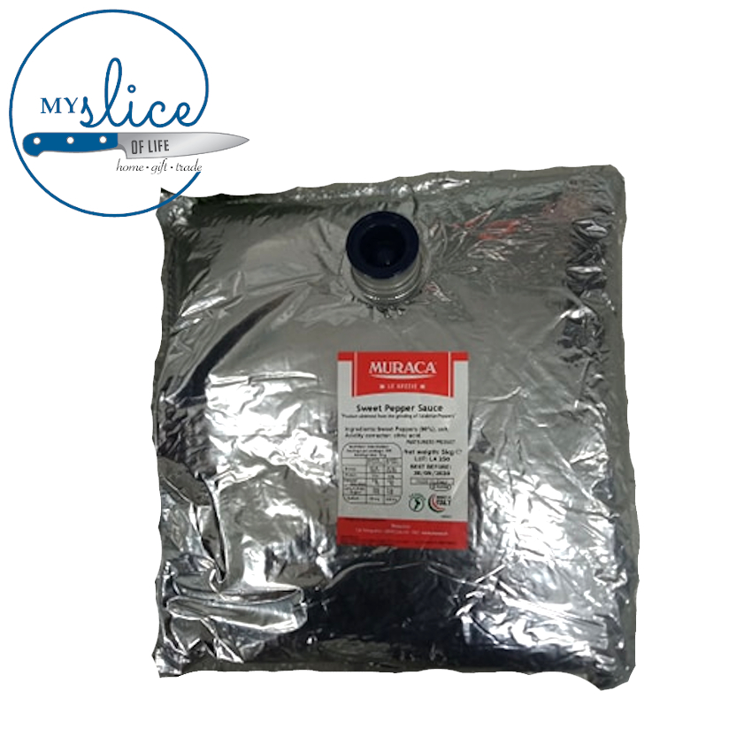 Muraca Pepper Paste - Capsicum Paste 5kg Bladders