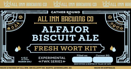 All Inn Wort Kit Alfajor Biscuit Ale