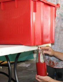 Tomato Passata Crate & Nozzle