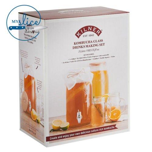 Kilner Kombucha Drinks Set