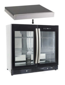 Galaxy Double Door Fridge Top