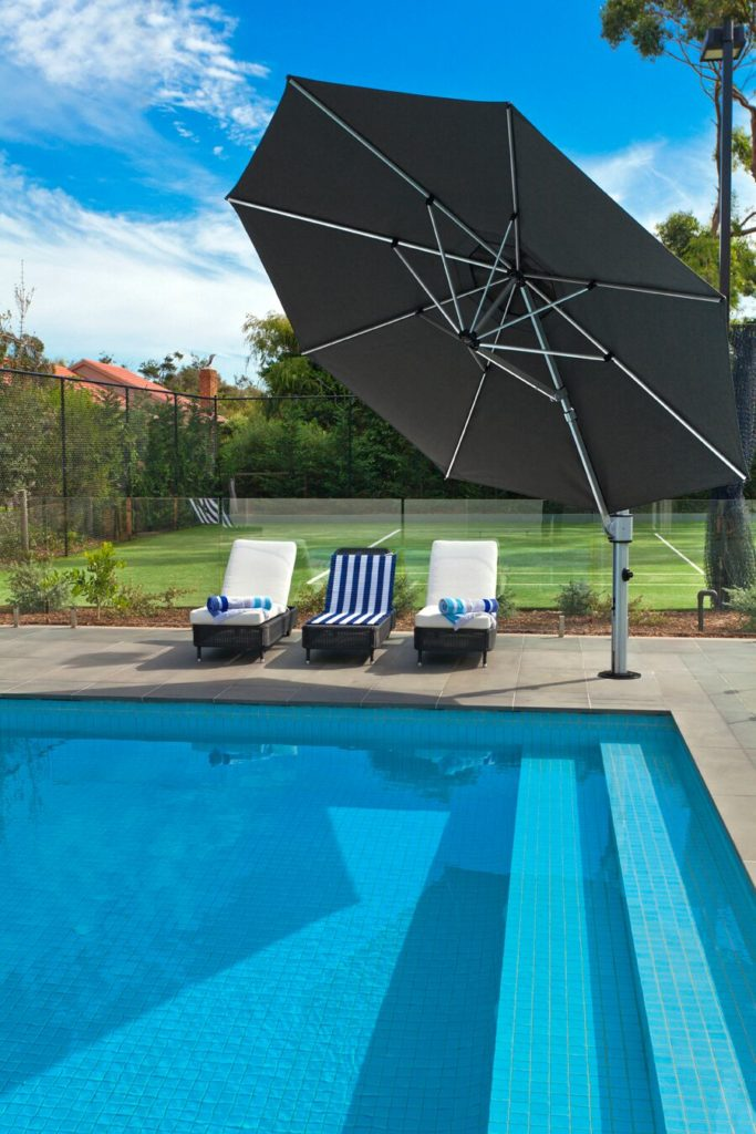 Instant Shade Eclipse Cantilever Umbrellas