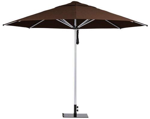 Monaco Outdoor Umbrella Brown