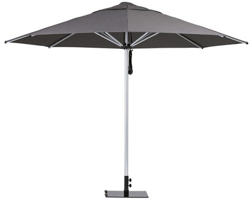 Monaco Outdoor Umbrella Charcoal