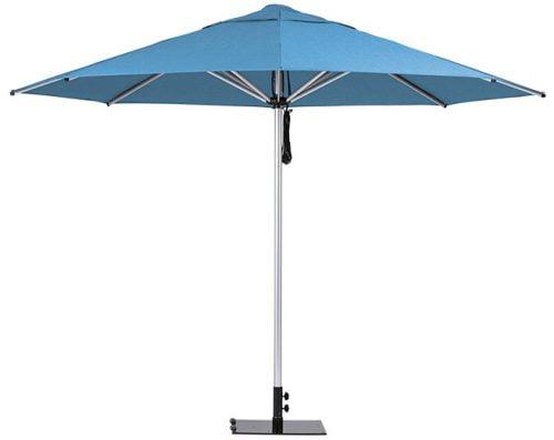Monaco Outdoor Umbrella Light Blue
