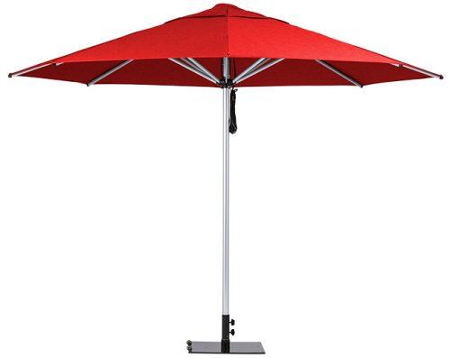 Monaco Outdoor Umbrella Red