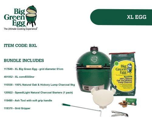 Big Green Egg XLarge Built In Bundle