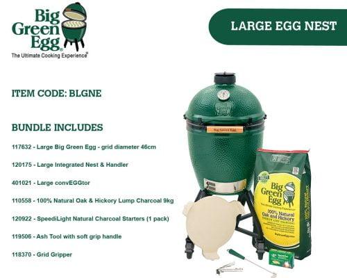 Big Green Egg Large Integrated Nest Bundle