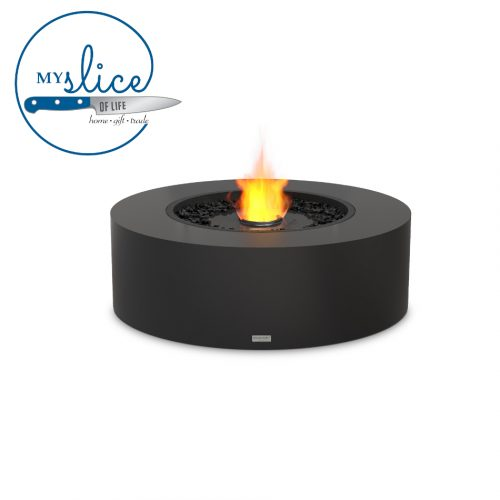Ecosmart Fire Ark 40 Fireplace Graphite (Black Burner)