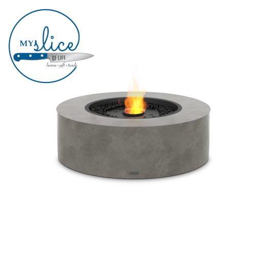 Ecosmart Fire Ark 40 Fireplace Natural (Black Burner)