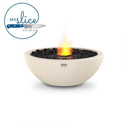 Ecosmart Fire Mix 600 Fireplace Bone (Black Burner)