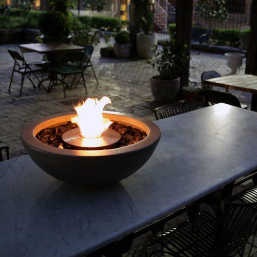 Ecosmart Fire Mix 600 Fireplace Install