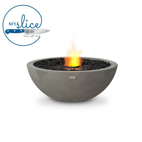 Ecosmart Fire Mix 600 Fireplace Natural (Black Burner)