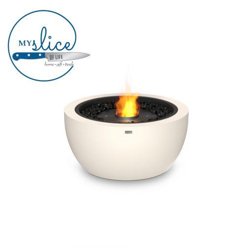 Ecosmart Fire Pod 30 Fireplace Bone (Black Burner)