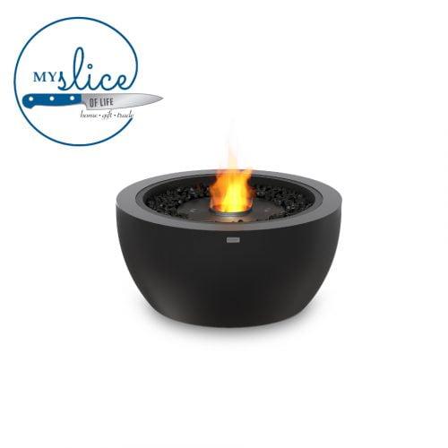 Ecosmart Fire Pod 30 Fireplace Graphite (Black Burner)
