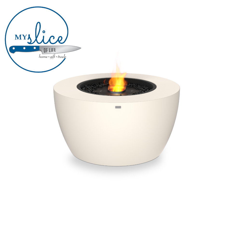 Ecosmart Fire Pod 40 Fireplace Bone (Black Burner)
