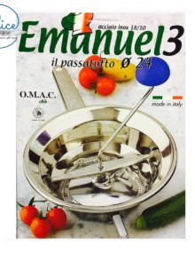 Emanuel3 Stainless Steel Mouli