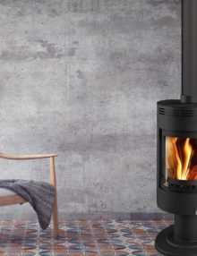 Euro Fireplaces Andorra Exclusive Wood Heater