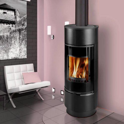 Euro Fireplaces Atika Wood Heater