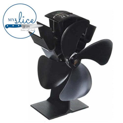 Radiant Wood Heater Fan