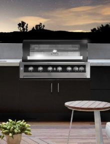 Gasmate Galaxy Black Built In BBQ