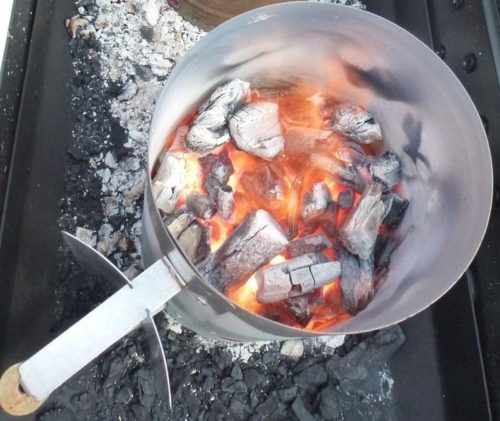 Flaming Coals Charcoal Starter
