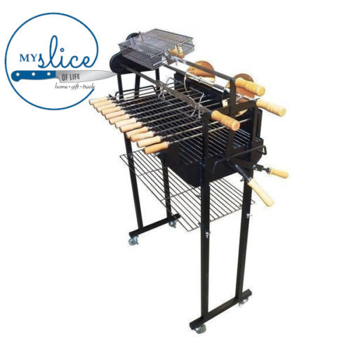 Flaming Coals Cyprus Spit Roaster