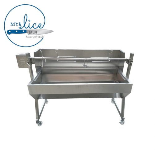Flaming Coals Spartan Non Hooded Rotisserie (2)