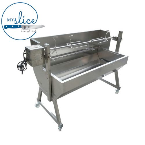 Flaming Coals Spartan Non Hooded Rotisserie