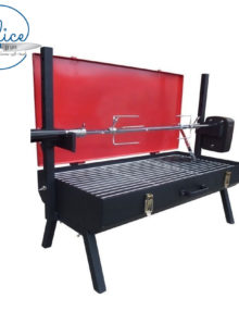 Flaming Coals Mini Spit Roaster