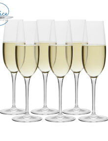 Luigi Bormioli Champagne Flute Set