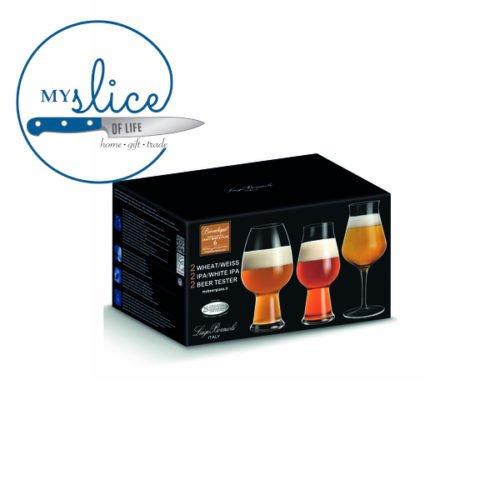 Luigi Bormioli 6 Piece Craft Beer Glass Set