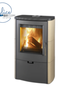 Euro Fireplaces Falun Ceramic Wood Heater