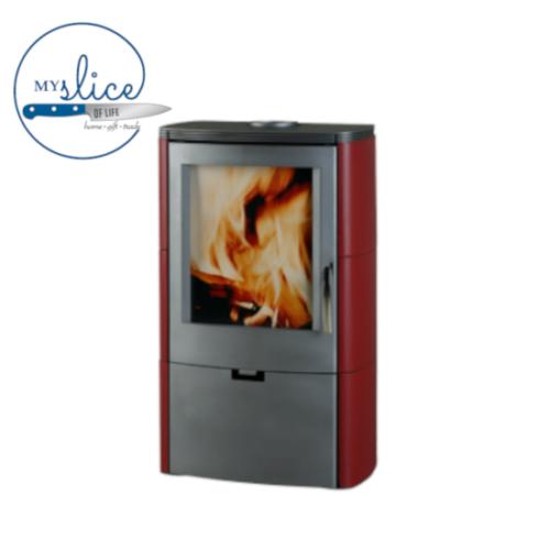 Euro Fireplaces Falun Ceramic Wood Heater