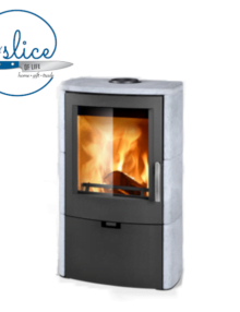 Euro Fireplaces Falun Serpentino Wood Heater