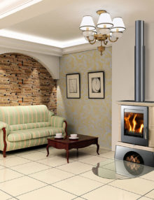 Euro Fireplaces Landshut Wood Heater