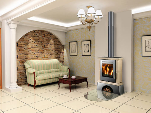 Euro Fireplaces Landshut Wood Heater