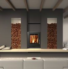 Euro Fireplaces Valencia Insert Wood Heater