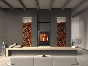 Euro Fireplaces Valencia Insert Wood Heater
