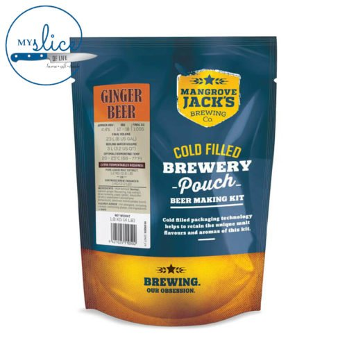 Mangrove Jack's Ginger Beer Pouch