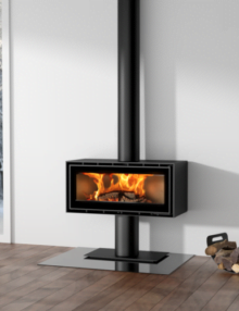 ADF Linea 100 Freestanding Wood Heater.