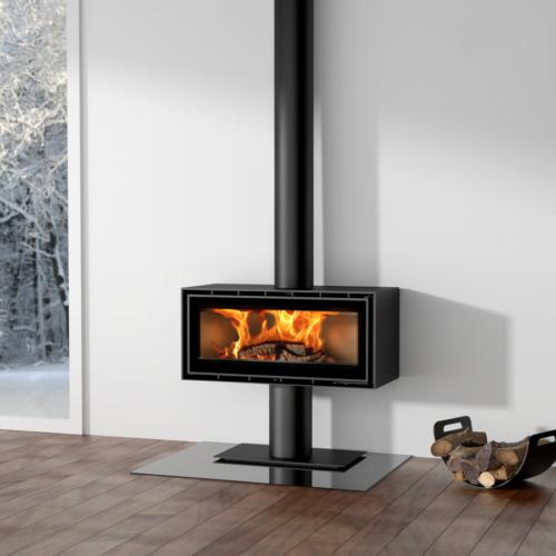 ADF Linea 100 Freestanding Wood Heater.
