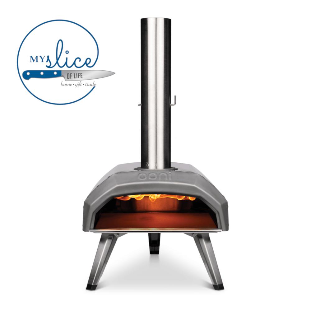 Ooni Karu Wood & Charcoal Fired Portable Pizza Oven + Peel ...