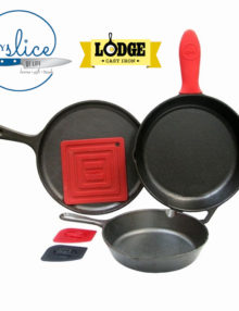 Lodge 6 Piece Skillet Set