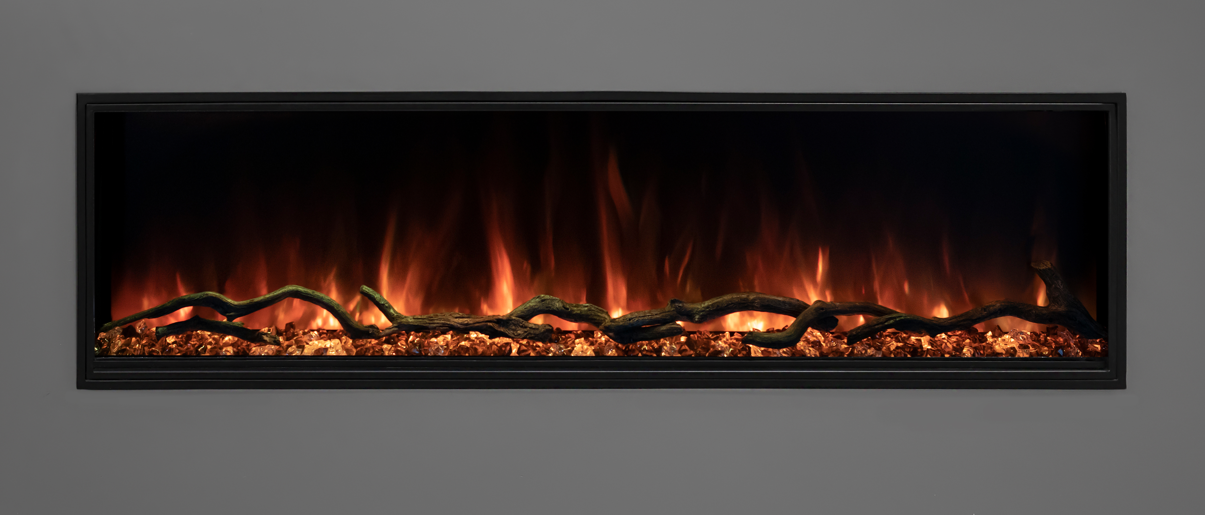 Modern Flames Landscape Pro Slim Series 56 Inch Electric Fireplace Lps 5614 My Slice Of Life