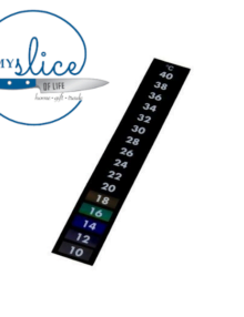 Stick On Thermometer Strip